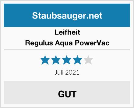 Leifheit Regulus Aqua PowerVac Test