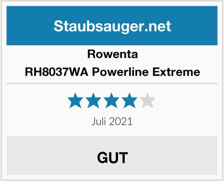 Rowenta RH8037WA Powerline Extreme Test