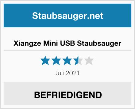 Xiangze Mini USB Staubsauger Test