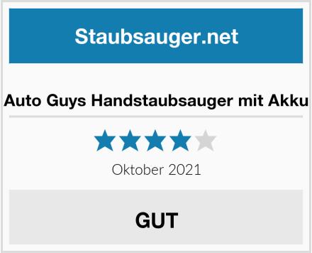 Auto Guys Handstaubsauger mit Akku Test