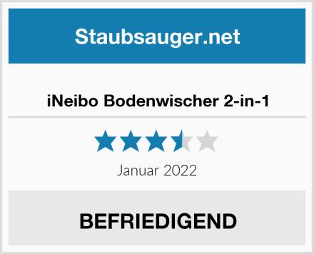 iNeibo Bodenwischer 2-in-1 Test