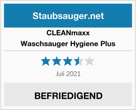 Clean Maxx Waschsauger Hygiene Plus Test