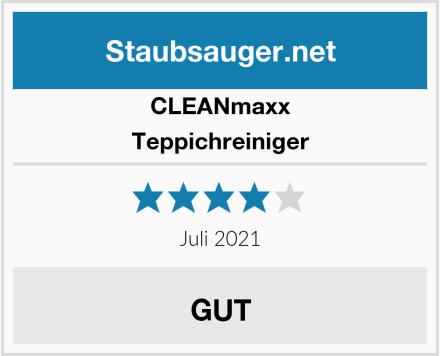Clean Maxx Teppichreiniger Test