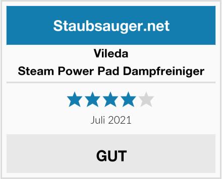 Vileda Steam Power Pad Dampfreiniger Test