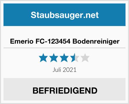 Emerio FC-123454 Bodenreiniger Test