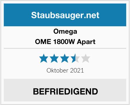 Omega OME 1800W Apart Test