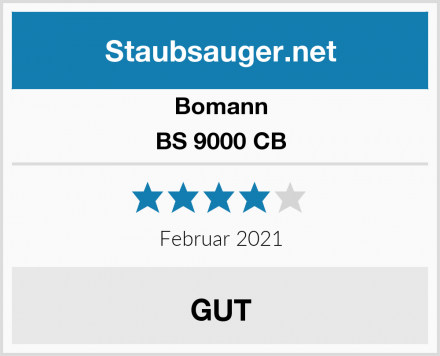 Bomann BS 9000 CB Test