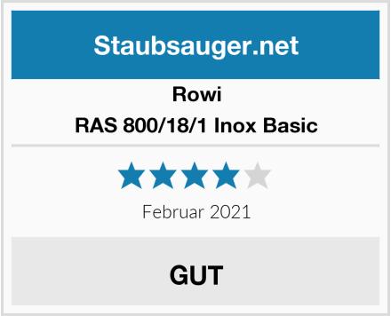 Rowi RAS 800/18/1 Inox Basic Test