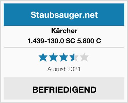 Kärcher 1.439-130.0 SC 5.800 C Test