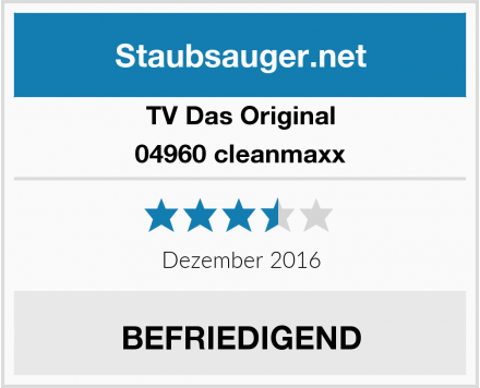 TV Das Original 04960 cleanmaxx Test