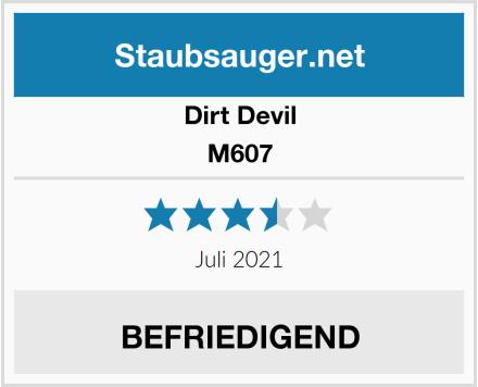 Dirt Devil M607 Test