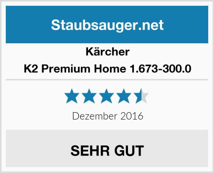 Kärcher K2 Premium Home 1.673-300.0 Test