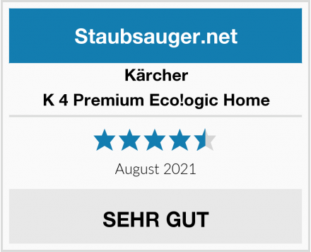 Kärcher K 4 Premium Eco!ogic Home Test