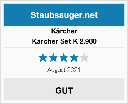 Kärcher Kärcher Set K 2.980 Test