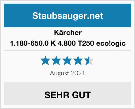 Kärcher 1.180-650.0 K 4.800 T250 eco!ogic Test