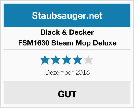 Black & Decker FSM1630 Steam Mop Deluxe Test
