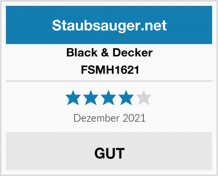 Black & Decker FSMH1621 Test