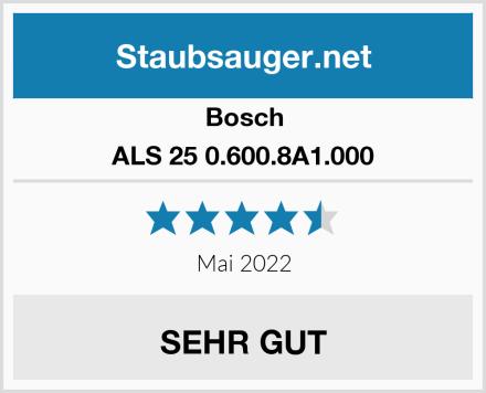 Bosch ALS 25 0.600.8A1.000 Test