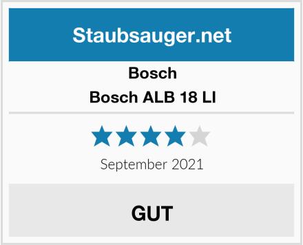 Bosch Bosch ALB 18 LI Test