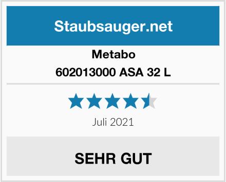 Metabo 602013000 ASA 32 L Test
