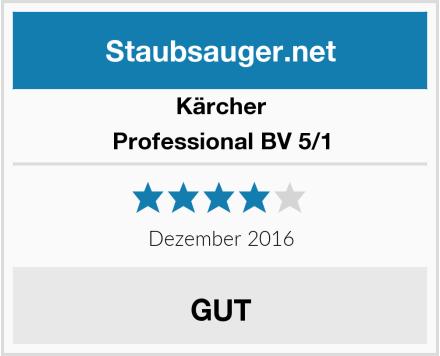 Kärcher Professional BV 5/1 Test