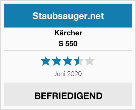 Kärcher S 550 Test