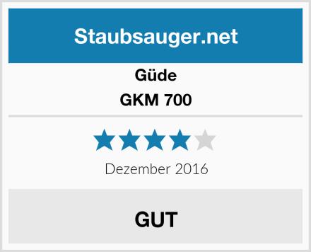 Güde GKM 700 Test