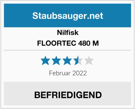 Nilfisk FLOORTEC 480 M Test
