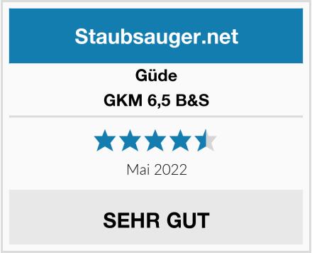 Güde GKM 6,5 B&S Test