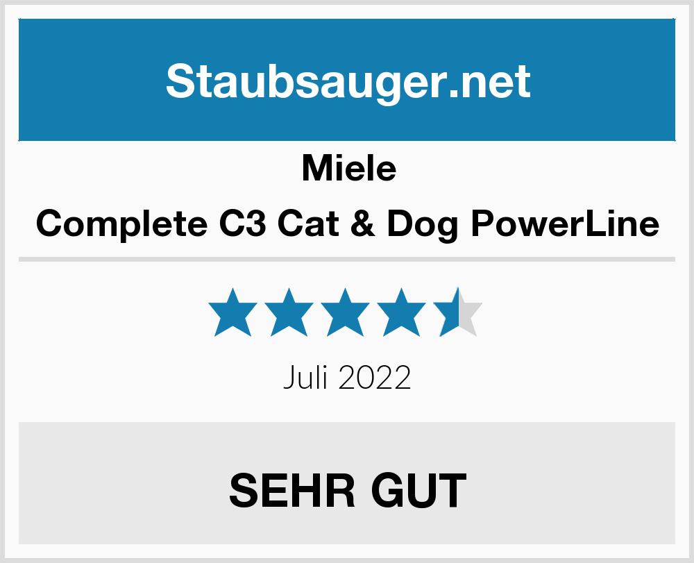 Flot Miele Complete C3 Cat & Dog PowerLine Staubsauger Test 2019 NM-43