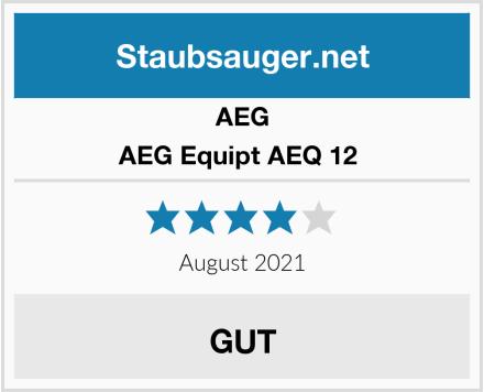 AEG AEG Equipt AEQ 12  Test