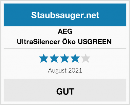 AEG UltraSilencer Öko USGREEN  Test