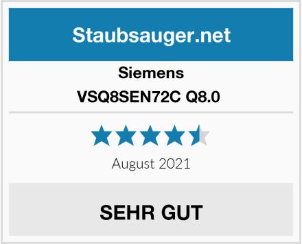 Siemens VSQ8SEN72C Q8.0  Test
