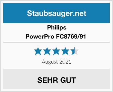 Philips PowerPro FC8769/91  Test