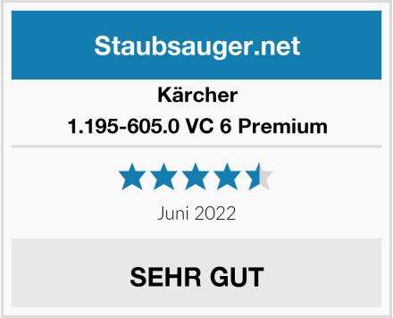 Kärcher 1.195-605.0 VC 6 Premium  Test