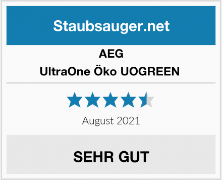 AEG UltraOne Öko UOGREEN  Test