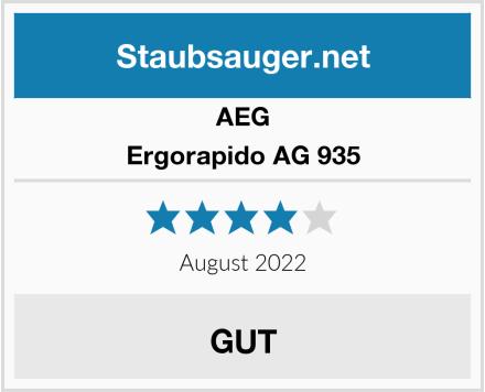 AEG Ergorapido AG 935 Test