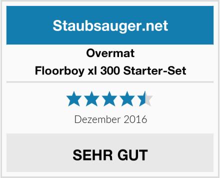 Overmat Floorboy xl 300 Starter-Set Test