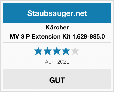 Kärcher MV 3 P Extension Kit 1.629-885.0 Test