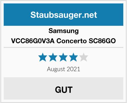 Samsung VCC86G0V3A Concerto SC86GO Test