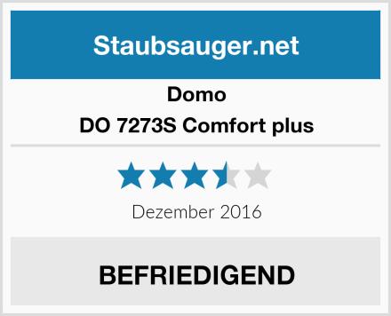 Domo DO 7273S Comfort plus Test