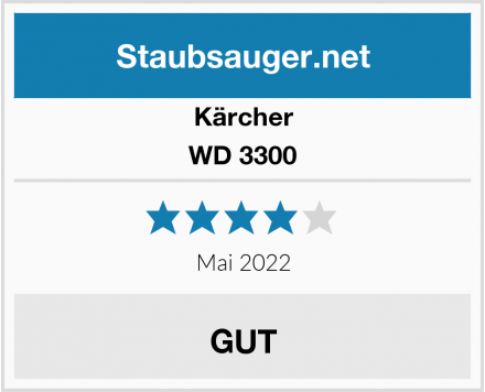 Kärcher WD 3300 Test