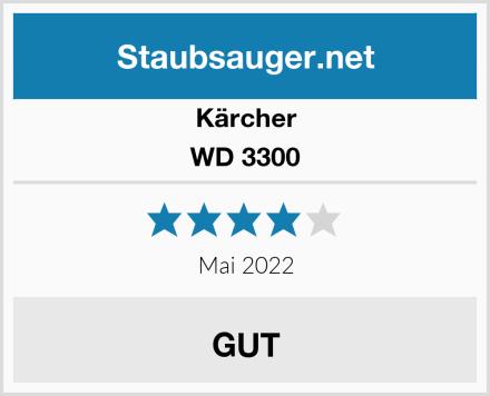 Kärcher WD 3300 Test