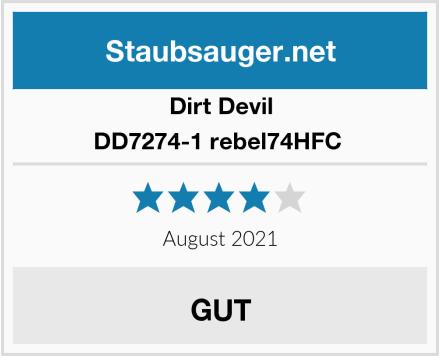 Dirt Devil DD7274-1 rebel74HFC  Test