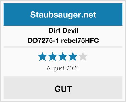 Dirt Devil DD7275-1 rebel75HFC Test