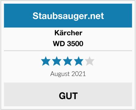 Kärcher WD 3500 Test