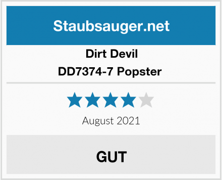 Dirt Devil DD7374-7 Popster  Test
