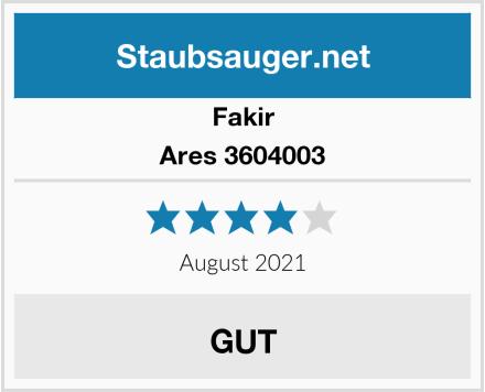 Fakir Ares 3604003 Test