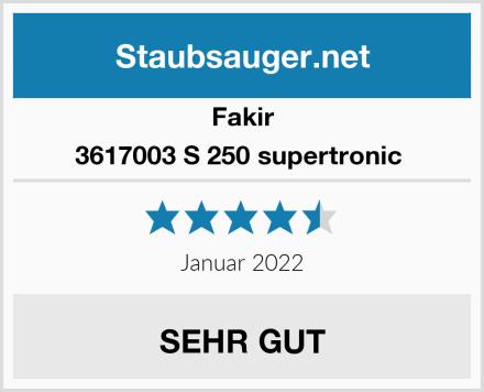 Fakir 3617003 S 250 supertronic  Test