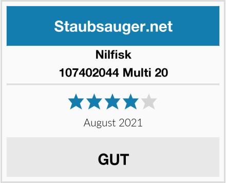 Nilfisk 107402044 Multi 20 Test